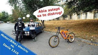 Intrecere din 1984 - DACIA 1310 vs. (Motor)Bike electric