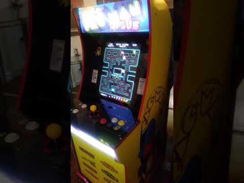 Arcade1Up Pac-Man Plus (NEW) HIGH SCORE 🍻 from TboneNY10
