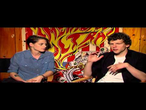 Kristen Stewart & Jesse Eisenberg talk about working together in American Ultra Movie