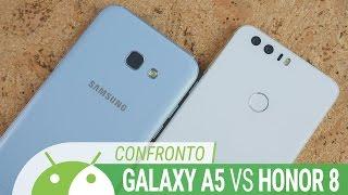 Honor 8 vs Galaxy A5 2017, quale scegliere? Confronto ITA da TuttoAndroid