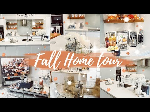 FALL HOME TOUR 2019 // AUTUMN & HALLOWEEN HOUSE DECOR