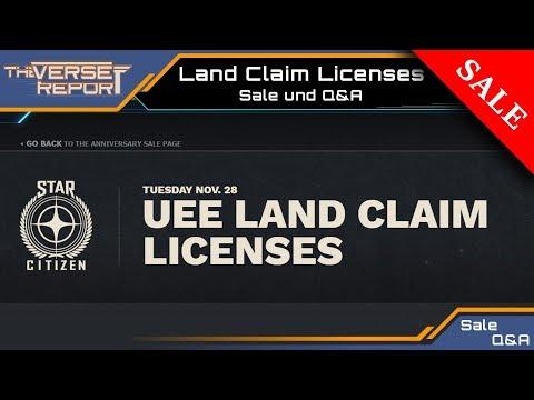 Star Citizen Claim License Sale und Q&A | Verse Report [Deutsch/German]