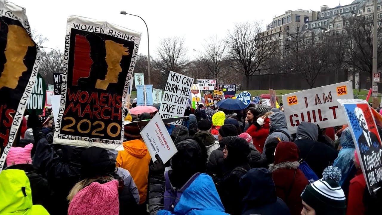 Women's March 2020 - Washington, D.C.
