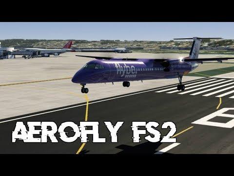 Aerofly FS2 | Dash-8 Q400 - Las Vegas to San Diego (KLAS - KSAN)