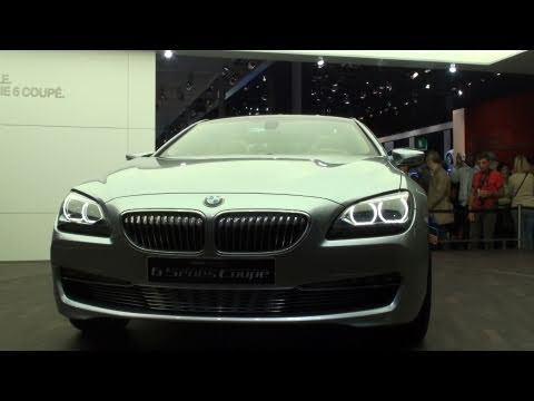 BMW 6 Series F12 Coupe Concept - Paris Mondial de l'Automobile 2010