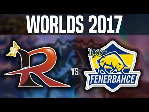 RPG vs FB - Worlds 2017 Play In Day 3 - Rampage vs Fenerbahç
