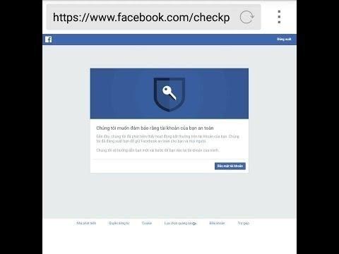 Cách lấy lại facebook bị xác minh hình ảnh (check point) – mới nhất