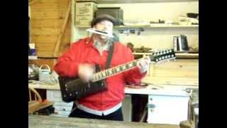 Stumblecol-the None More Black-12 String-wine Box Guitar-demo