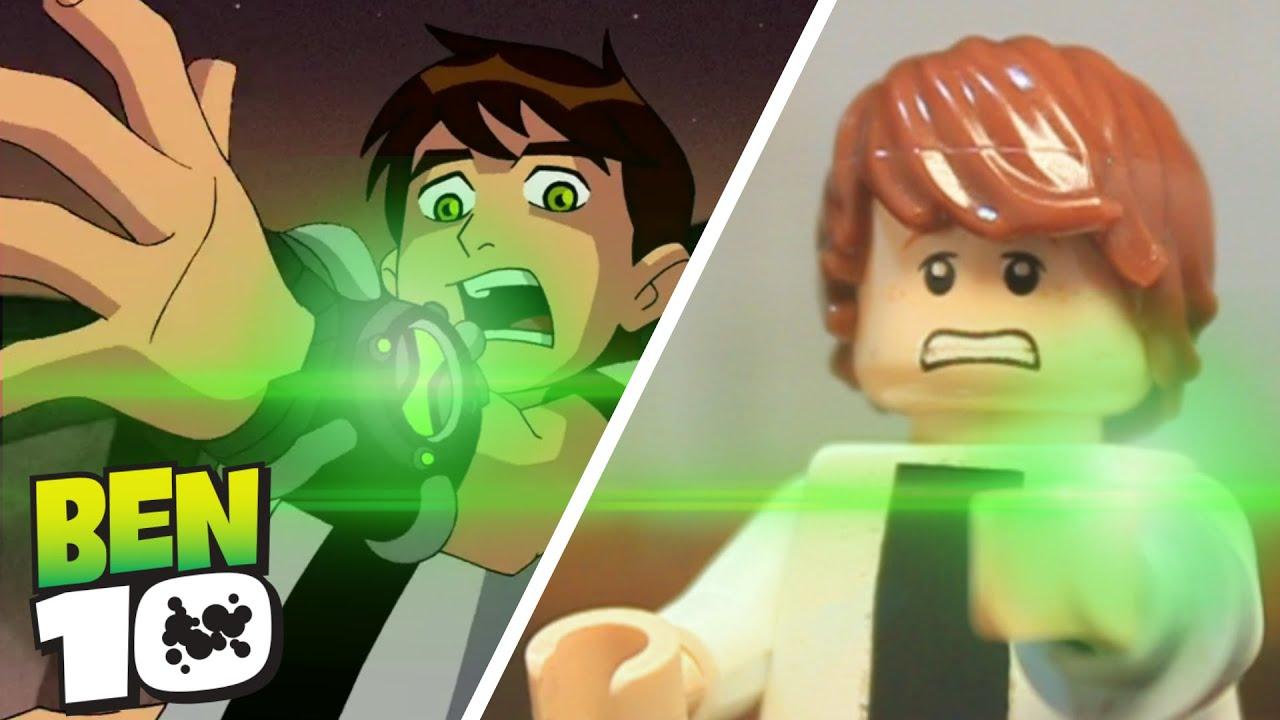 Lego Ben 10 Finds The Omnitrix Youtube