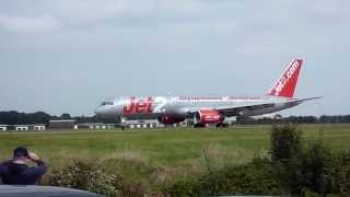 Jet2 B757 - Palma De Mallorca To Leeds & Corendon Airlines B737 - Malaga To Leeds - With ATC