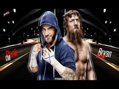 The Brisco Brothers VS CM Punk And Daniel Bryan - مصارعه حرة جديدة - اخر مصاعه سي ام بانك