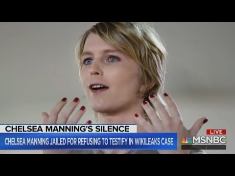 Chelsea Manning Thrown In Jail For Refusing To Give Information About Wikileaks!