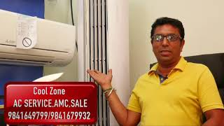 Cool Zone/Sales, Service & AMC of Multy Brand AC  under one roof./98416 49799/98416 79932