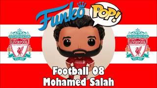Liverpool football team Mohamed Salah Funko Pop unboxing (Football 08)