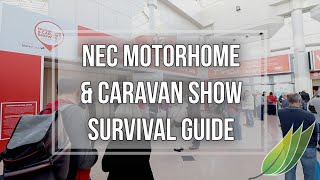 NEC Motorhome and Caravan show survival guide
