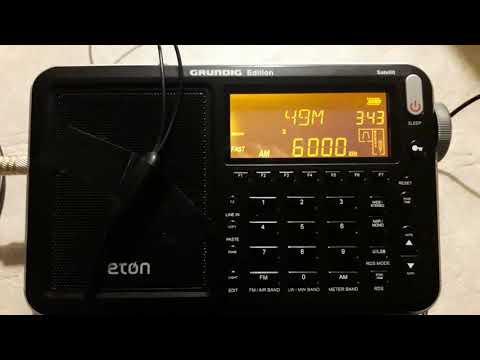 Radio Habana Cuba 6000 khz Eton Grundig Edition Satellit  desde Mendoza ( ARG)