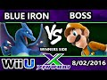S@X 161 - BlueIron (Charizard) Vs. TCG | Boss (Luigi) SSB4 Tournament - Smash Wii U - Smash 4