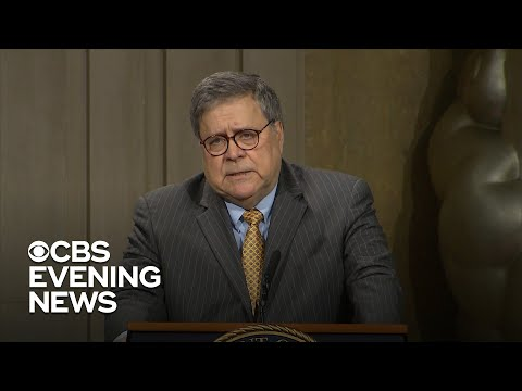 Bill Barr under fire for comments about policing