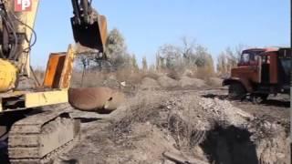 Раскопки металла на отвалах ЮТЗ