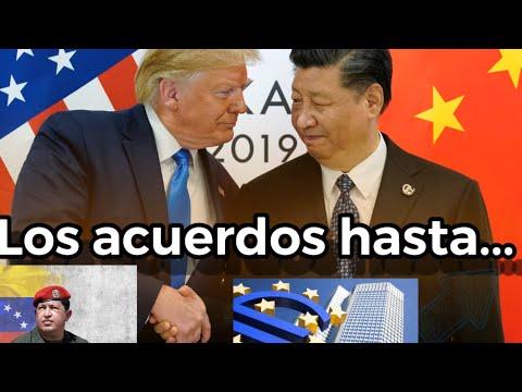 Negociaciones China Estados Unidos / SEGUIMIENTO tipo de cambio del dolar hoy