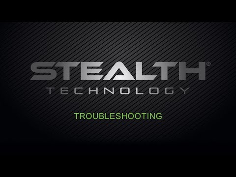 Stealth Toilet - Troubleshooting