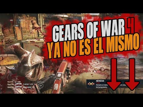 GEARS OF WAR 4 DE MAL EN PEOR!!