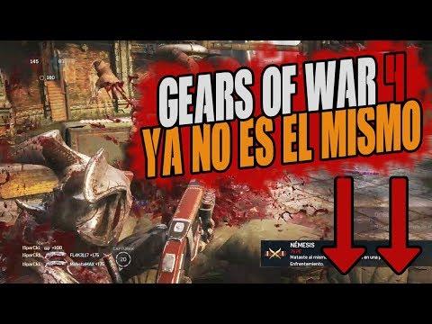 GEARS OF WAR 4 DE MAL EN PEOR!!