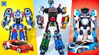 Тоботы трансформеры. Все тоботы Атлон: Трансформируем много роботов в машинки.