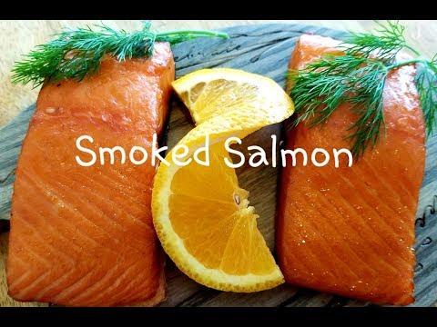 Smoked Salmon Recipe - Honey Cured Salmon - Smoking Fish