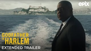 Godfather of Harlem EPIX 2019 Series Extended Trailer  Forest Whitaker Vincent DOnofrio