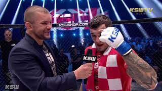 KSW 45: Roberto Soldić - Cage interview