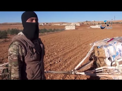 ISIS Video: America Airdropped Weapons In Our Hands