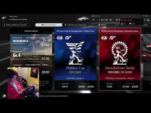 GTSports FIA Racing Day 4 (Stage 2) Official Season 2 #TGTWheel #Chile #FT_NicoR