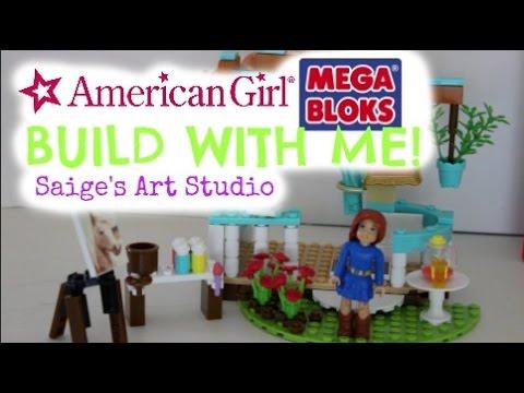 American Girl MegaBloxs: Saige's Art Studio!