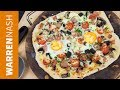 Breakfast Pizza Recipe - Tasty, Delish & Fully Loaded - Recipes by Warren Nash