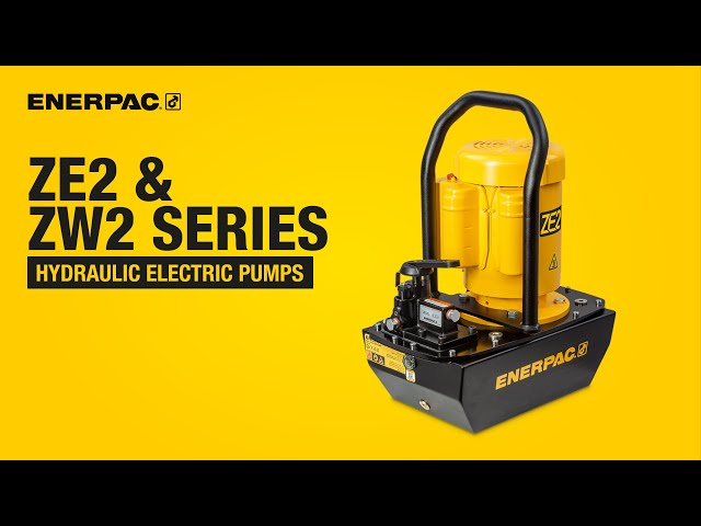 ZE2 & ZW2 Series Hydraulic Electric Pumps | Enerpac