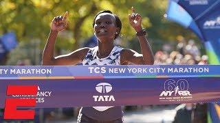 Mary Keitany of Kenya wins women's title at 2018 NYC Marathon