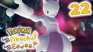 How To Catch Mewtwo | Pokémon Let's Go Pikachu! & Let's Go Eevee! Walkthrough - Part 22