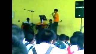Hari Pertandingan Nyanyian Bahasa Malaysia (SMK AMAN JAYA) Tegar-Aku Yang Dulu