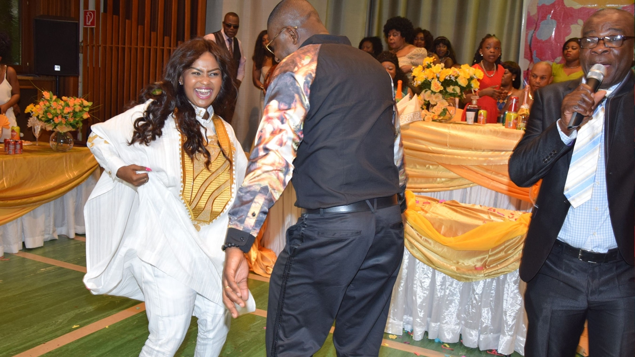 Nana Ama McBrown S Mother Mrs Cecilia Agyenim Boateng Aka Mama Egals 60th Birthday Party Part 2