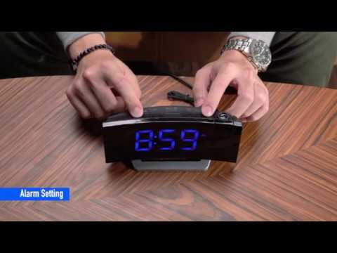 Led Display Projection Alarm Clock With, Digital Projection Alarm Clock Manual