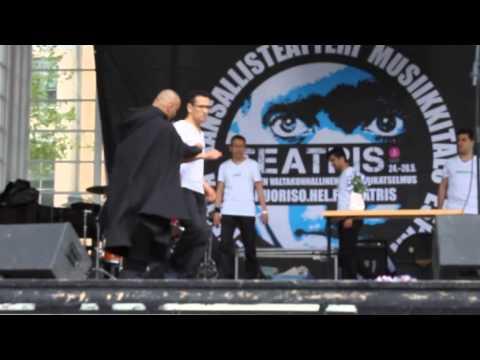 finnish dance & afghan theater show in helsinki