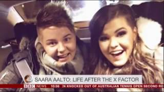 X Factor runner up Saara Aalto has record deal with Sony 2017 BBC Interview