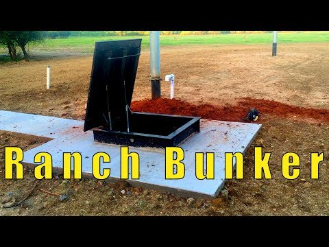 Nice Bunker On A Ranch - 10x51 Atlas Survival Shelter