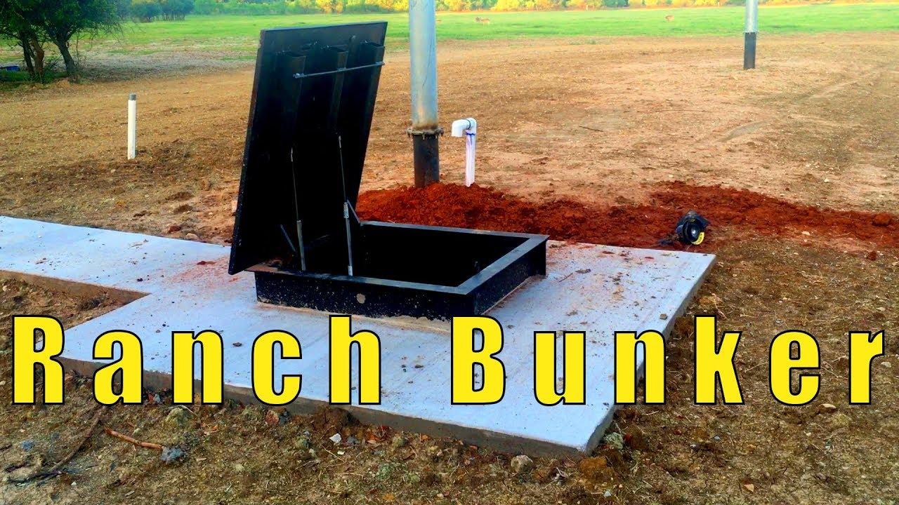 Nice Bunker On A Ranch - 10x51 Atlas Survival Shelter