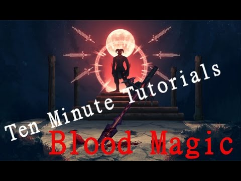 Ten Minute Tutorials Blood Magic Sigils YouTube