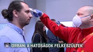 Orbán: a hatóságok felkészültek a koronavírusra 20-02-28