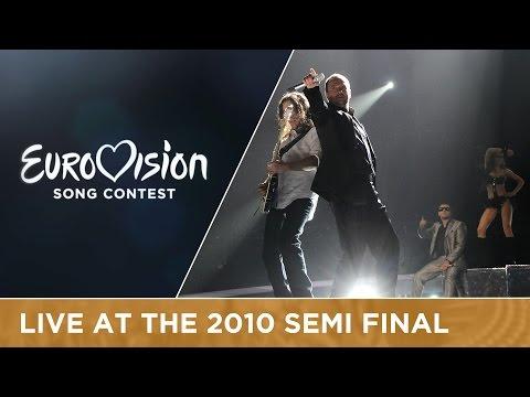 Gjoko Taneski - Jas Ja Imam Silata (F.Y.R. Macedonia) Live 2010 Eurovision Song Contest