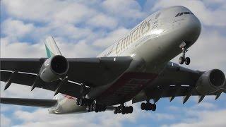 Planes at Birmingham Int'l Airport, BHX | 01-05-17