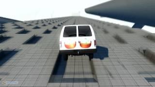 Beam NG DRIVE - Берегись! Пельмени!